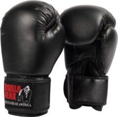 Gorilla Wear Mosby Bokshandschoenen Unisex - Zwart - 8 oz