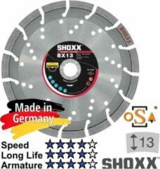 Zilveren Sameda Diamantdoorslijpschijf 400 x asgat 25,4 / 20mm (Zwaar) gewapend beton, Samedia Germany SHOXX BX13 - 310057
