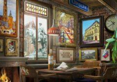 Tucker's Fun Factory Puzzel 1000 stukjes - Utrechts Cafe
