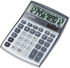 Calculator Citizen C-series desktop Design Line, zilverkleurig