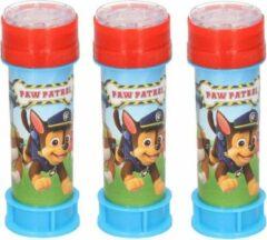 6x Bellenblaas Paw Patrol 60 ml speelgoed voor kinderen - Uitdeelspeelgoed/weggevertjes