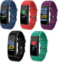 Meco XANES B05 0.96'' OLED Color Screen Smart Watch IP67 Waterproof Blood Pressure Monitor Smart Bracelet