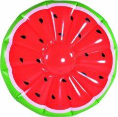 Gerimport Luchtbed Watermeloen 148 X 30 Cm Pvc/vinyl Rood