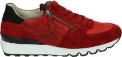 Paul Green Paul groen 4965 - Volwassenen Lage sneakers - Kleur: Rood - Maat: 40.5