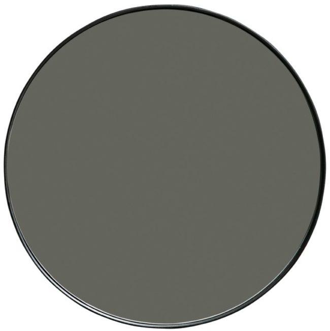 Afbeelding van WOOOD Spiegel 'Doutzen' 50 x 50cm, kleur Zwart