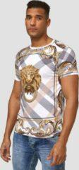 One Redox Heren - T-shirt - Roma - Wit - 1361