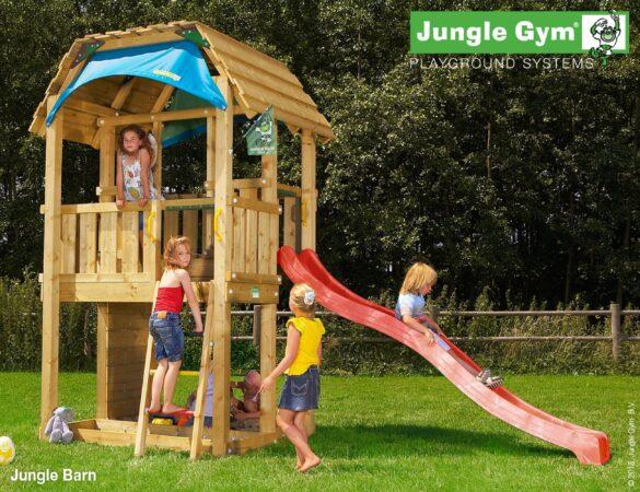 Afbeelding van Jungle Gym | Barn | DeLuxe | Geel