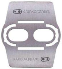 Grijze Crank Brothers schoenbeschermers - Schoenplaatjes
