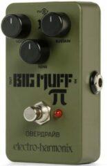 Electro Harmonix groen Russian Big Muff effectpedaal