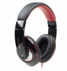 Gembird MHS-BOS Hoofdband Stereofonisch Zwart, Rood mobielehoofdtelefoon