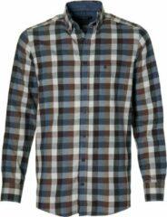 Casa Moda Overhemd - Regular Fit - Bruin - 5XL Grote Maten