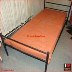 Rubberrfun Rubber bedzeil - hospitaallinnen - hospitaalrood - 90x200 cm (BxL) – 4A