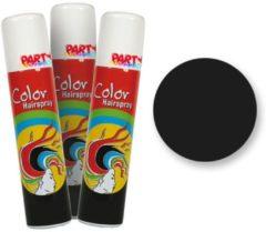 Fantasy Make up Zwarte Gekleurde Haarspray - Fantasy Make-up 75ml