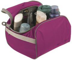 Roze Sea to Summit Toiletry Cell Toilettassen - L - Paars/Grijs - 7L