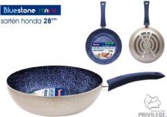 Blauwe Privilege Blue Stone Italy koekenpan 28 cm