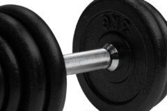 Zwarte Dumbbellset - VirtuFit Verstelbare Dumbbellset Pro - Halterset - Gietijzer - 15 kg