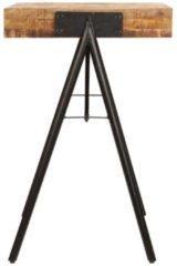 Bruine VidaXL Schrijftafel 118x50x75 cm massief mangohout VDXL 246338