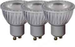 Lucide LED BULB - Led lamp - Ø 5 cm - LED Dimb. - GU10 - 3x5W 3000K - Grijs