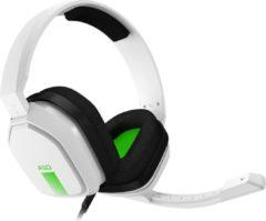 ASTRO Gaming ASTRO A10 Lichtgewicht Gaming Headset met ASTRO Audio en Dolby Atmos, schadebestendig - Wit/Groen