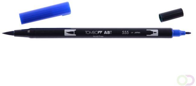 Afbeelding van Blauwe Tombow ABT dual brush pen ultramarine ABT-555