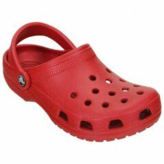 Crocs - Classic - Outdoor sandaal maat M9 / W11 rood