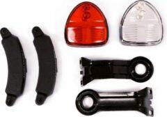 Reelight verlichtingsset SL120 Flash dynamo V-brake/rollerbrake