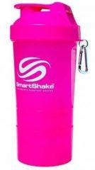 SmartShake Smart Shake Original (felroze) - Shaker bidons