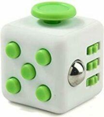 Tokomundo Fidget Cube tegen Stress - Fidget Toys - Stressbal - Speelgoed Jongens - Speelgoed Meisjes - Groen