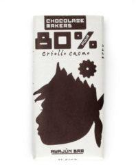 Chocolate Makers Awajun Bar 80% Puur (90g)