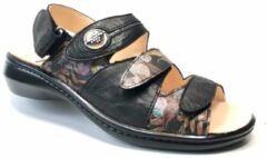 Zwarte Think Sandalen/Sandaaltjes