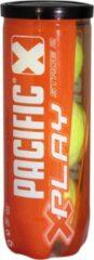 Pacific X Play Stage 2 - Tennisbal - 3er tin - Geel/Oranje