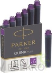 Inktpatroon Parker Quink mini tbv Parker esprit lila