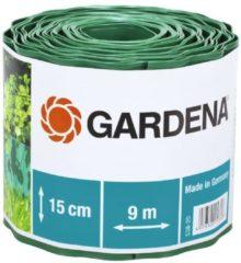 Gardena Raseneinfassung, grün, Rolle 15 cm hoch, 9 m lang | 538-20