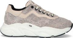 HUB Dames Lage sneakers Rock-w - Beige - Maat 38