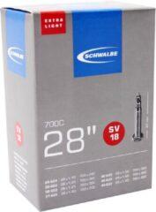 Zwarte Schwalbe Light - Binnenband Fiets - Frans Ventiel - 40 mm - 28 x 1 1/8 - 1.625