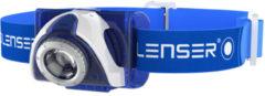 Ledlenser Oplaadbare hoofdlamp SEO7 Rechargeable blue Ledlenser 6107-S7R