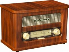 Bruine Madison MAD-RETRORADIO Nostalgie radio met bluetooth 1 fm tuner 2 x 10w