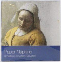 Rode LANZFELD Servetten Vermeer, het melkmeisje