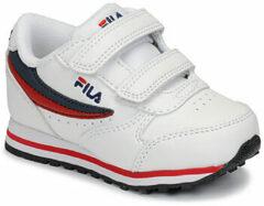 Witte Lage Sneakers Fila ORBIT VELCRO INFANTS