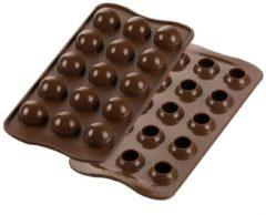 Bruine Silikomart Chocolade Mal Balletjes