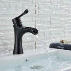 Merkloos / Sans marque Productgigant - Wastafelkraan - fonteinkraan - toiletkraan - zwart met brons
