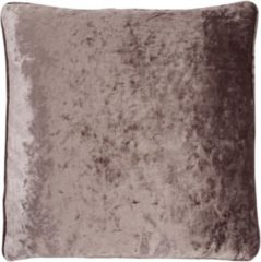 Paarse Dutch Decor Kussenhoes Senda 45x45 Cm Pruim