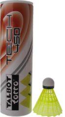 Talbot Torro Badminton Shuttles Tech 450 Geel/groen 6 Stuks