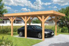 Van Kooten Tuin en Buitenleven Doe-het-zelf (DHZ) Carport Lemmer 450x600 cm