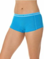 Brubeck | Active Wool - Dames Thermo Boxershort met Merino Wol - Seamless -Lichtblauw-M