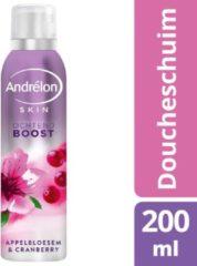 Andrelon Doucheschuim Ochtend Boost Appelbloesem&Cranberry 200 ml
