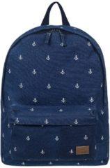 Blue Roxy Sugar Baby Canvas Backpack