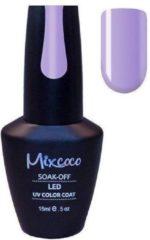 Paarse Gellak Mixcoco # 045 Violet Preppy - Gel nagellak