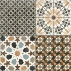 Realonda Ceramica Realonda Cerámica Vloer- en wandtegel Marrakech Mix 44x44 cm Vintage Mat Multi SW07311190-3