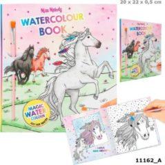 Miss Melody kleurboek Water Colours meisjes 22 cm papier